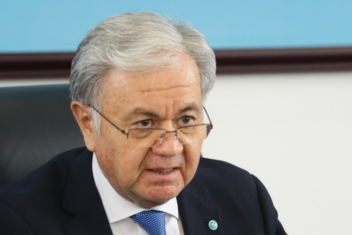 Министр иностранных дел встретился с Генеральным секретарем ШОС