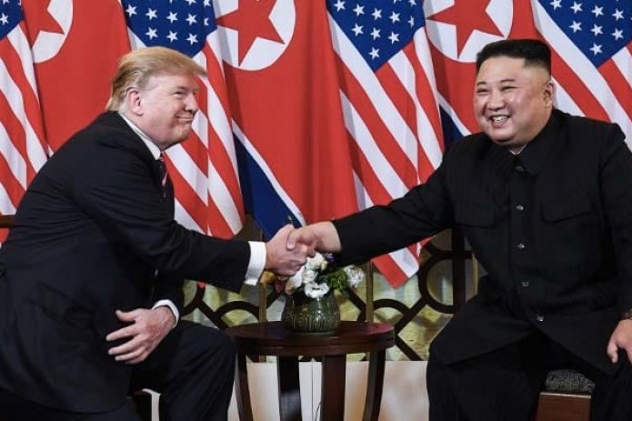 Ким Чен Ын и Трамп встретились в Ханое