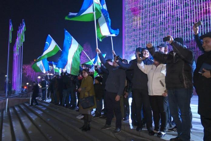 Олимпийскую сборную Узбекистана по футболу встретили в Ташкенте