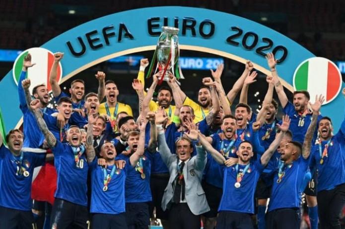 Италия во второй раз в истории выиграла чемпионат Европы по футболу
