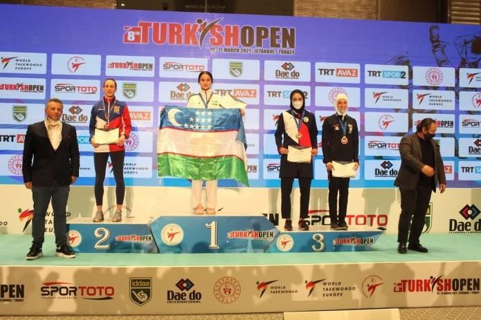 "Таэквондисты Узбекистана завоевали 8 медалей на ""Turkish Open"""