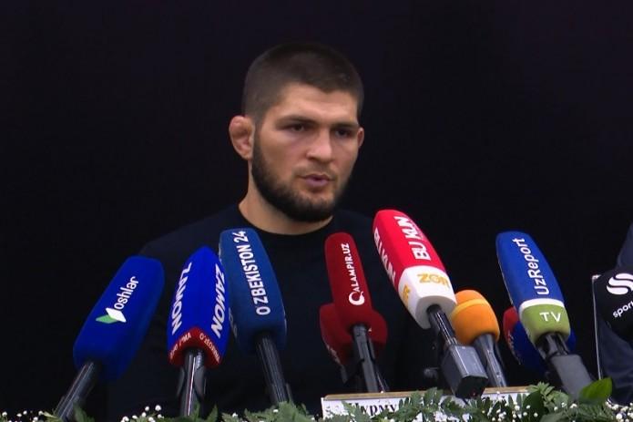 Хабиб Нурмагомедов рассказал, чем отличаются простые бойцы от чемпионов (Видео)