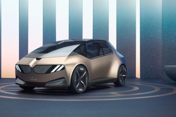 BMW представила электромобиль, созданный из вторсырья