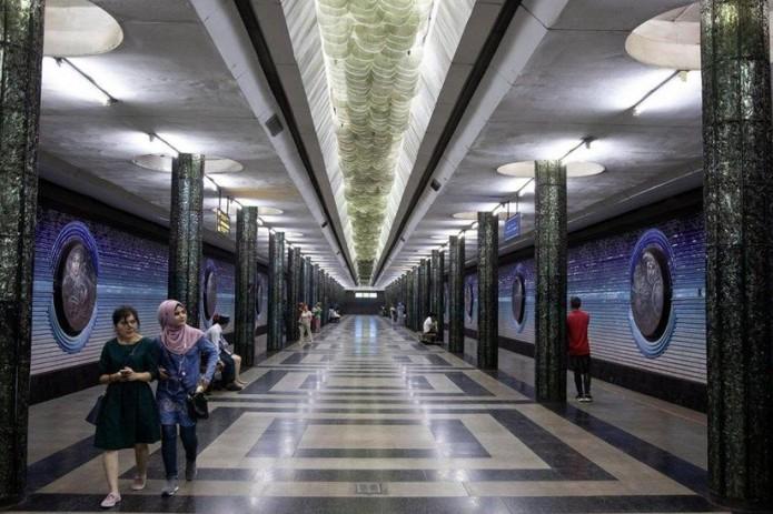 Ташкентскому метрополитену исполнилось 42 года