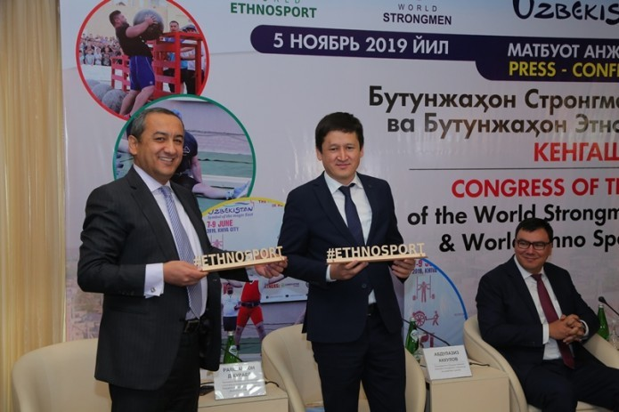 Ravshankhon Djuraev appointed President of World Strongman Federation