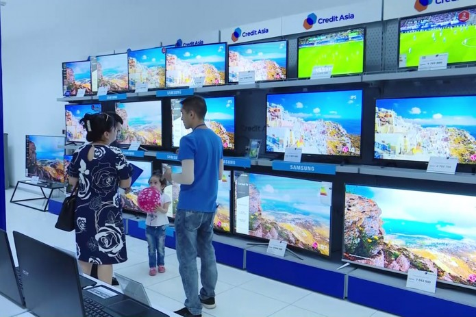 Credit Asia предоставляет рассрочку бытовой техники за 10 минут