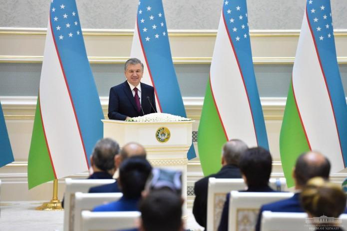 Президент Шавкат Мирзиёев вручил государственные награды