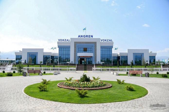 Из Ташкента в Ангрен за 5000 сумов. Запущен новый ж/д маршрут