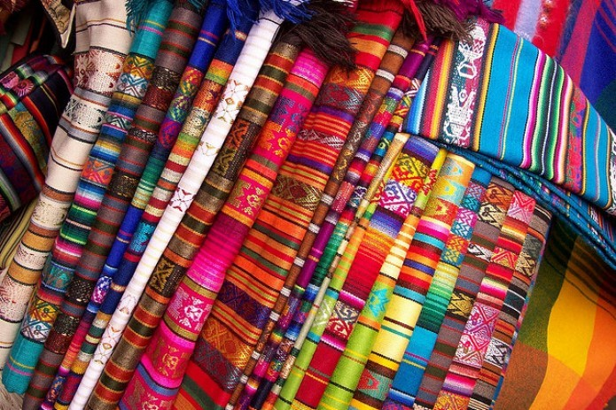 Uzbek textiles presented at Baltic Fashion & Textile 2018