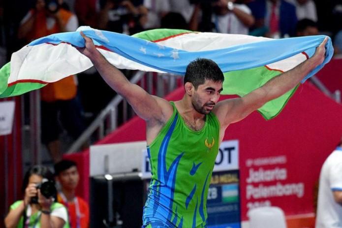 Бекзод Абдурахманов стал призером чемпионата мира по спортивной борьбе