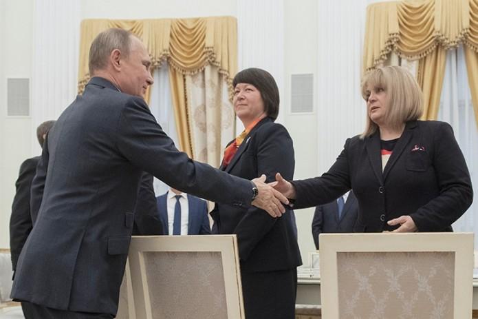 ЦИК: после обработки 99,75% бюллетеней Путин набрал 76,67%