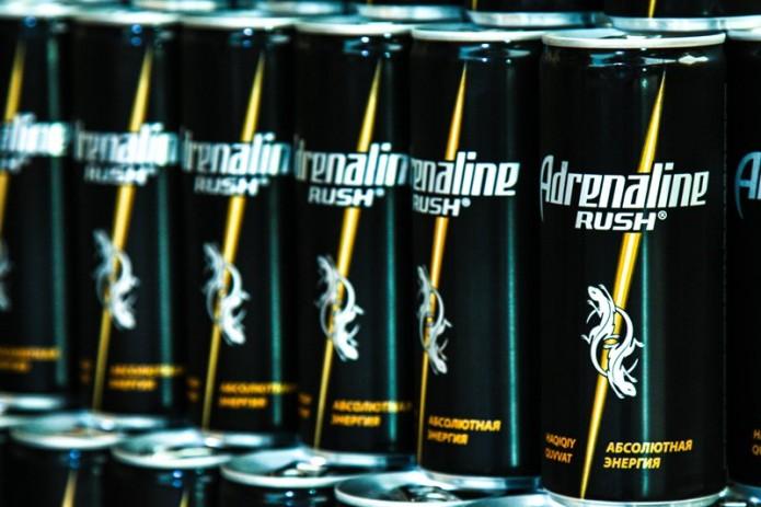 Энергетический напиток Adrenaline Rush теперь в Узбекистане