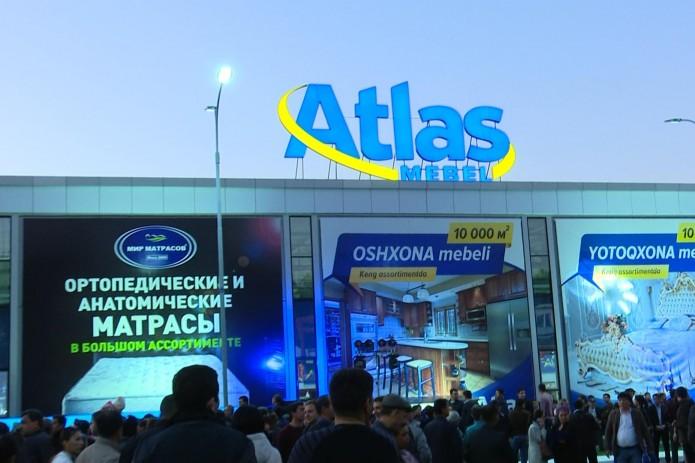 В Ташкенте открылся самый крупный торговый комплекс по продаже мебели