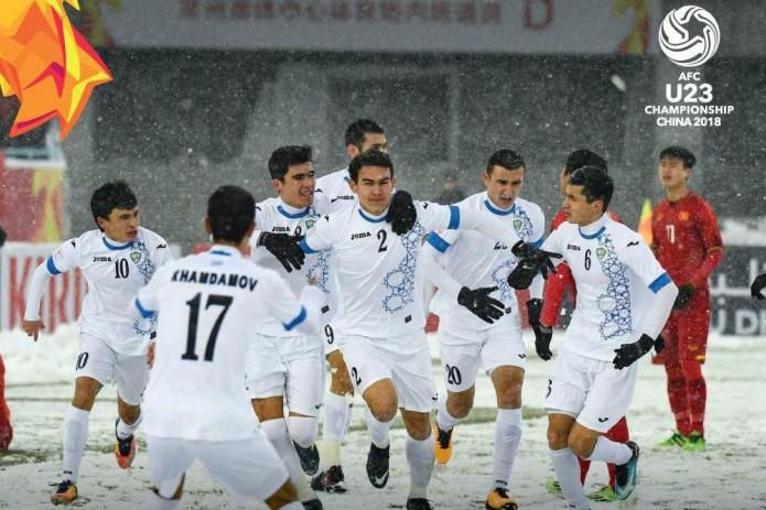 Сборная Узбекистана по футболу U-23 стала чемпионом Азии!