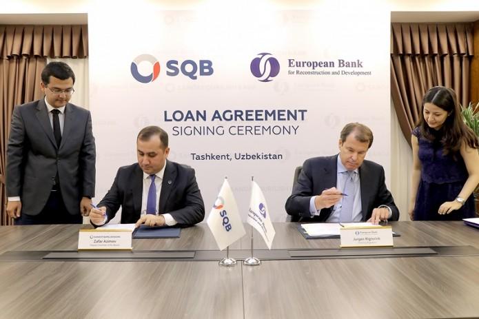 Узпромстройбанк и ЕБРР подписали соглашения на $45 млн.