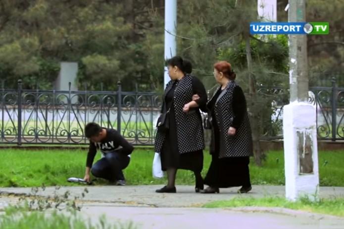 В Узбекистане провели социальный эксперимент - человеку плохо