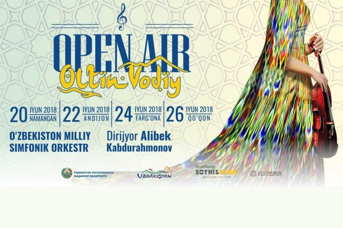 Fergana valley to host Open Air–Oltin Vodiy concerts