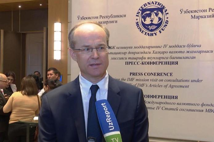 Глава миссии МВФ назвал главные риски для экономики Узбекистана