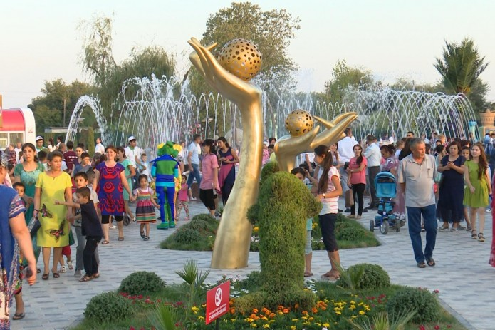 В Яшнабадском районе столицы открыли новый парк отдыха