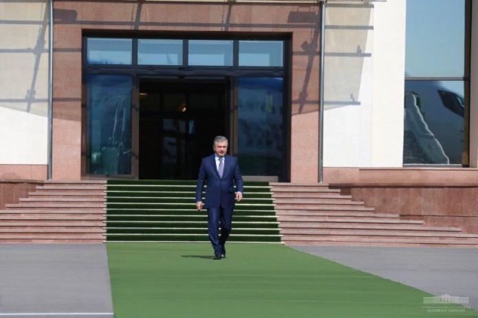Президент Шавкат Мирзиёев отбыл в Андижанскую область