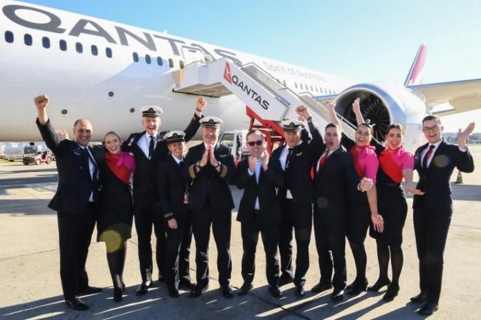 Авиакомпания Qantas осуществила рекордный по продолжительности прямой рейс