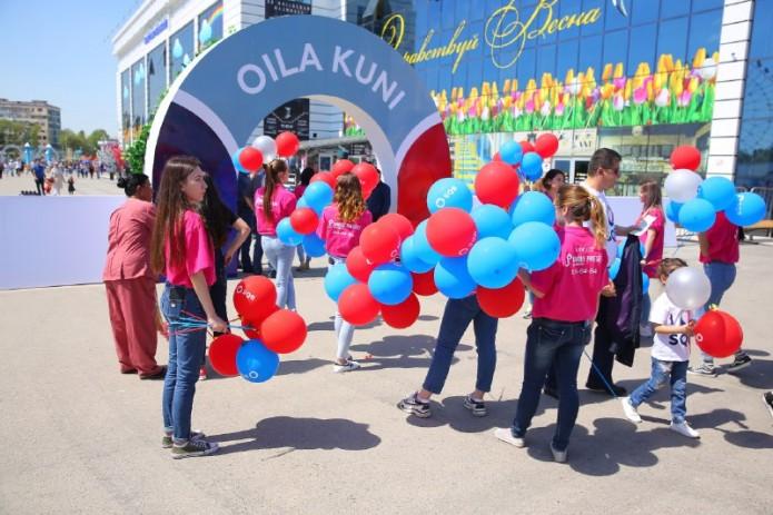 """Для коллектива Узпромстройбанка проведена акция """"День семьи"""""""