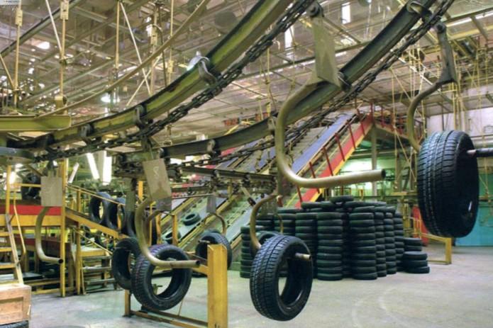 Построенный за $160 млн шинный завод в Ангрене работает лишь на 15%