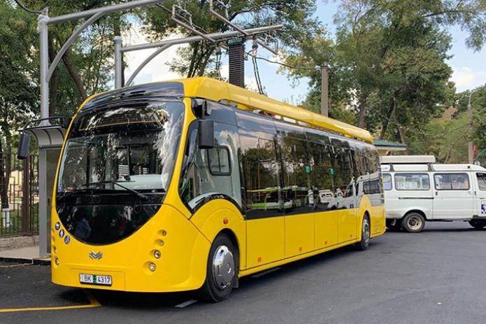 В Ташкенте увеличат количество электроавтобусов до десяти