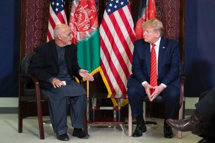 Дональд Трамп прибыл с необъявленным визитом в Афганистан