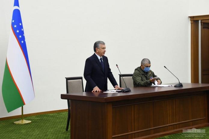 Шавкат Мирзиёев обсудил внезапный прорыв дамбы и его последствия