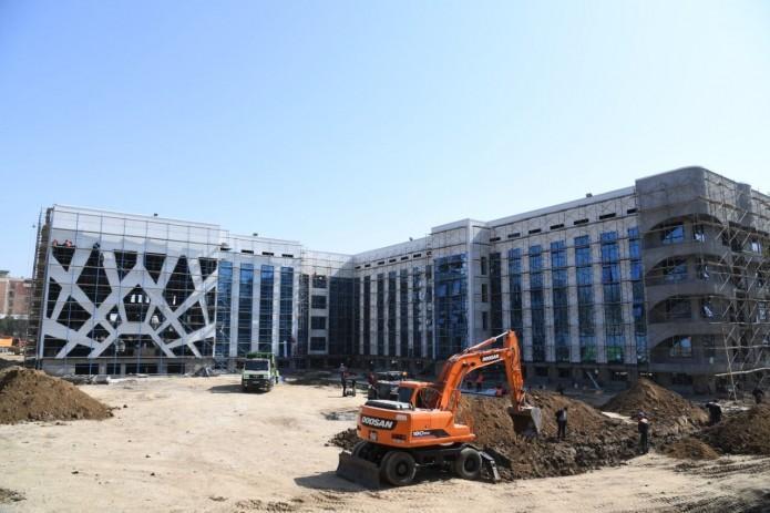 В Узбекистане строят несколько больниц для лечения больных коронавирусом