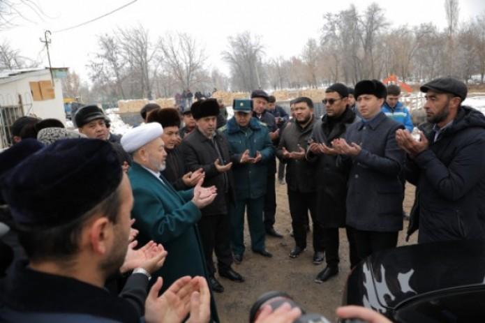 В Ташкенте началось строительство новой мечети