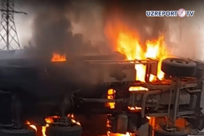 ДТП в Намангане унесло жизни шести человек (Видео)
