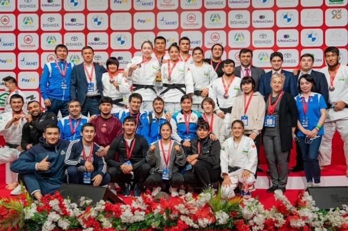 Дзюдоисты Узбекистана завоевали третье место на чемпионате Азии и Океании