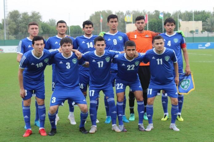 Олимпийская сборная Узбекистана – победитель международного турнира «Dubai Cup»