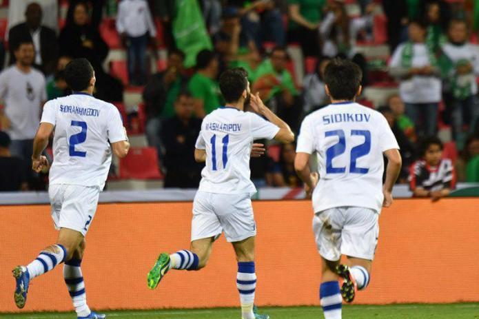 Узбекистан обыграл Туркменистан и досрочно вышел в плей-офф Кубка Азии