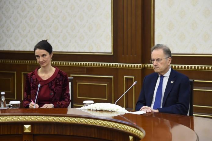 Президент Узбекистана принял заместителя Генерального секретаря ООН