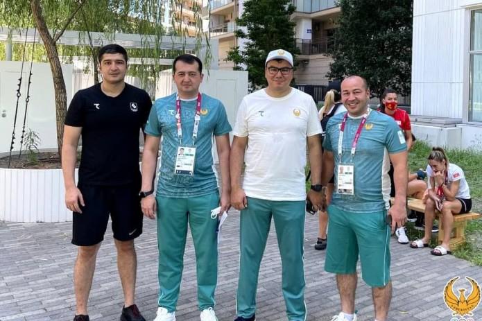 Азиз Абдухакимов оценил созданные условия в Олимпийской деревне в Токио