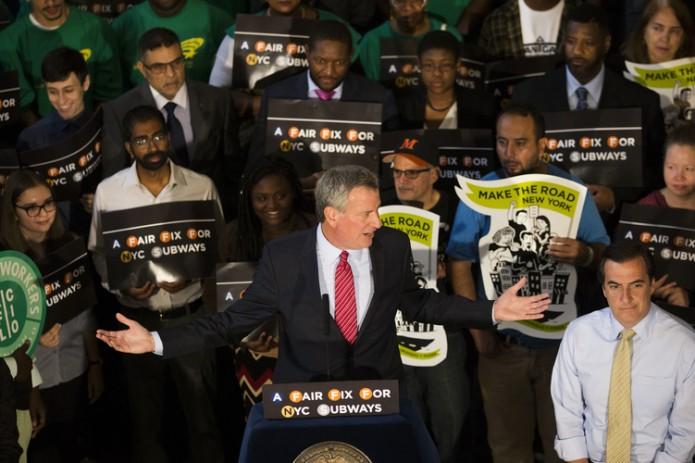 Мэр Нью-Йорка хочет ввести новый налог