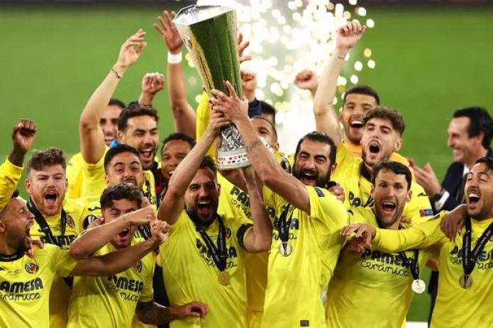 «Вильярреал» впервые в истории стал победителем Лиги Европы