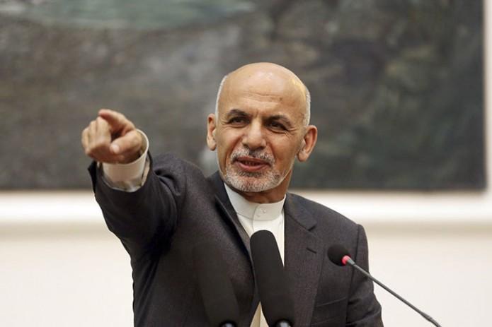 Ашраф Гани выразил готовность предоставить офис талибам