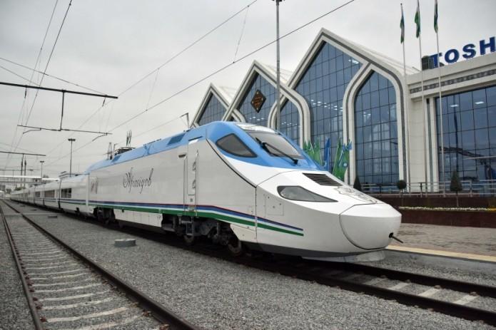 В праздничные дни запустят новые рейсы поездов «Afrosiyob»