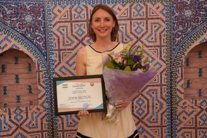 Софи Ибботсон назначена послом туристического бренда Узбекистана в Великобритании