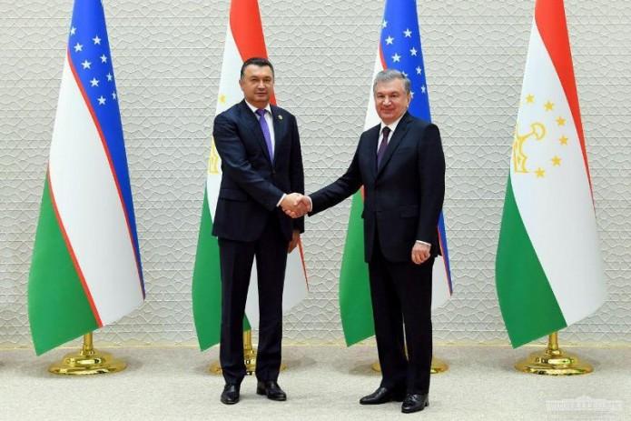 Шавкат Мирзиёев принял Премьер-министра Таджикистана
