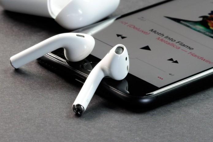Apple получила патент на биометрические AirPods