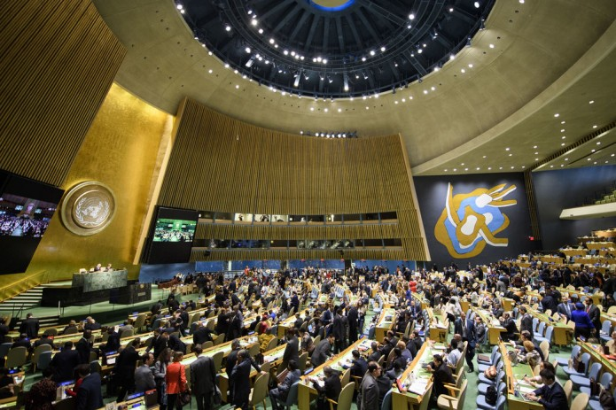 Генассамблея ООН приняла резолюцию о сотрудничестве с СНГ