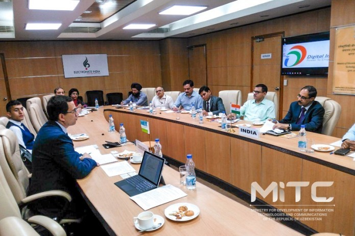 Uzbekistan and India agree on cooperation in ICT