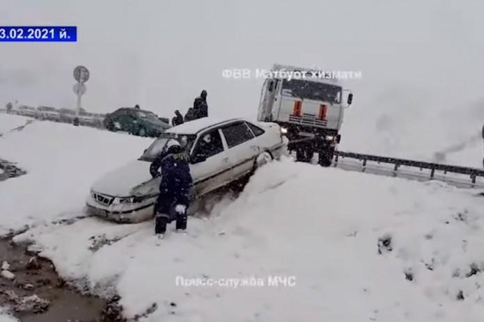 На перевале «Камчик» с интервалом в 30 минут произошло два ДТП