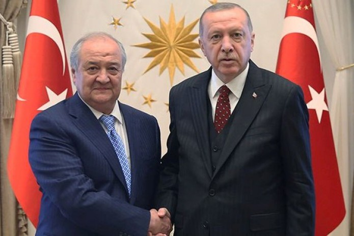 Президент Турции принял Министра иностранных дел Узбекистана