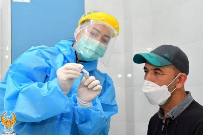 Олимпийцев и паралимпийцев Узбекистана начали прививать «Спутником V»